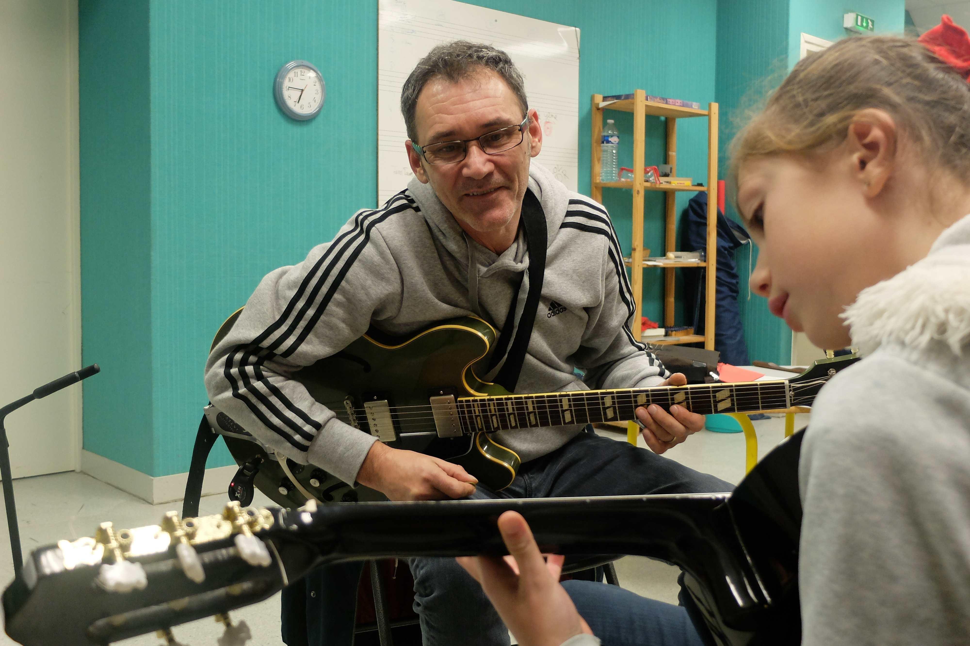 Guitare avec Vincent